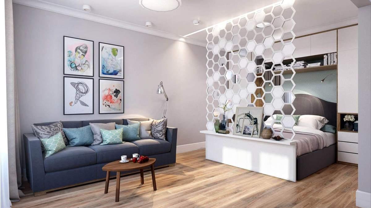 Як зонувати квартиру: види перегородок та цікаві приклади