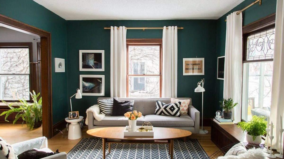 Зеленый цвет в дизайне квартиры: секреты и красивые идеи
