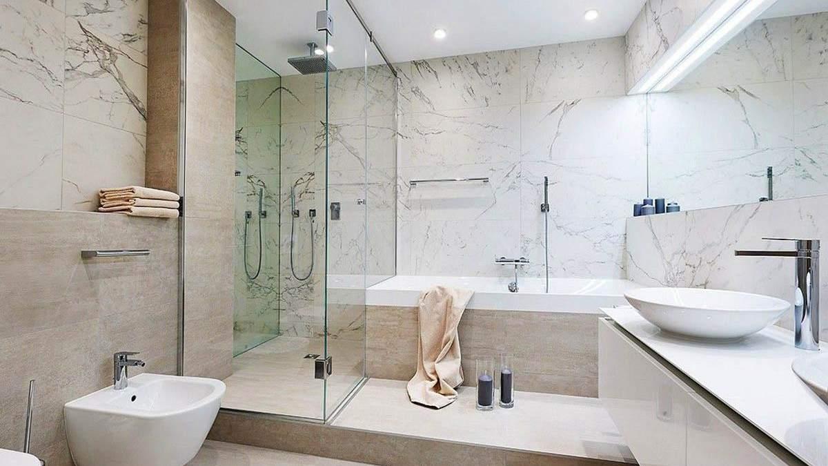 Найвдаліші кольори для оформлення ванної: фото інтер'єру