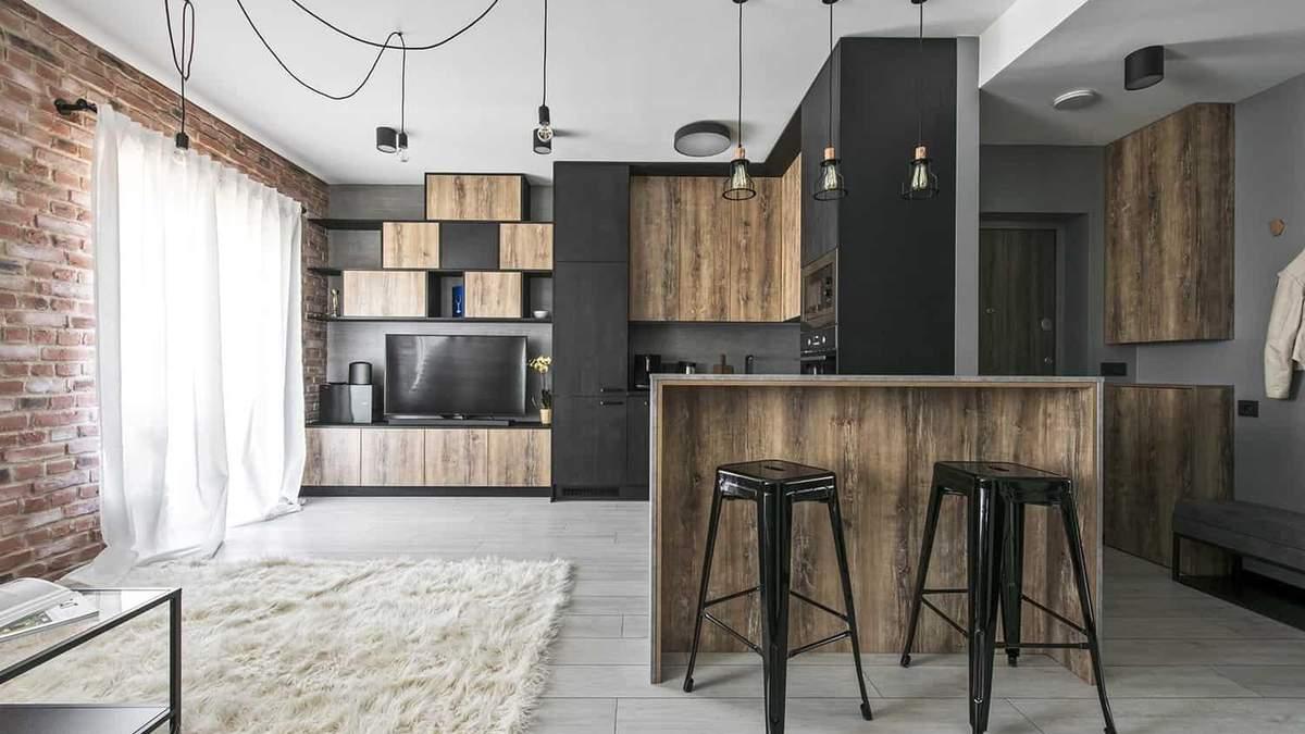 Квартира студія: як оформити інтер'єр і що врахувати