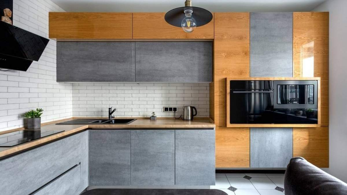 Кухня без ручок: переваги і красиві приклади