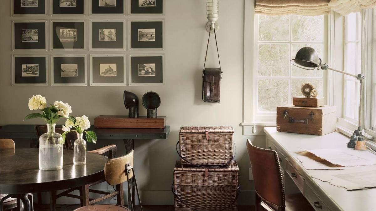 Винтаж в квартире: фото оригинальных предметов в интерьере