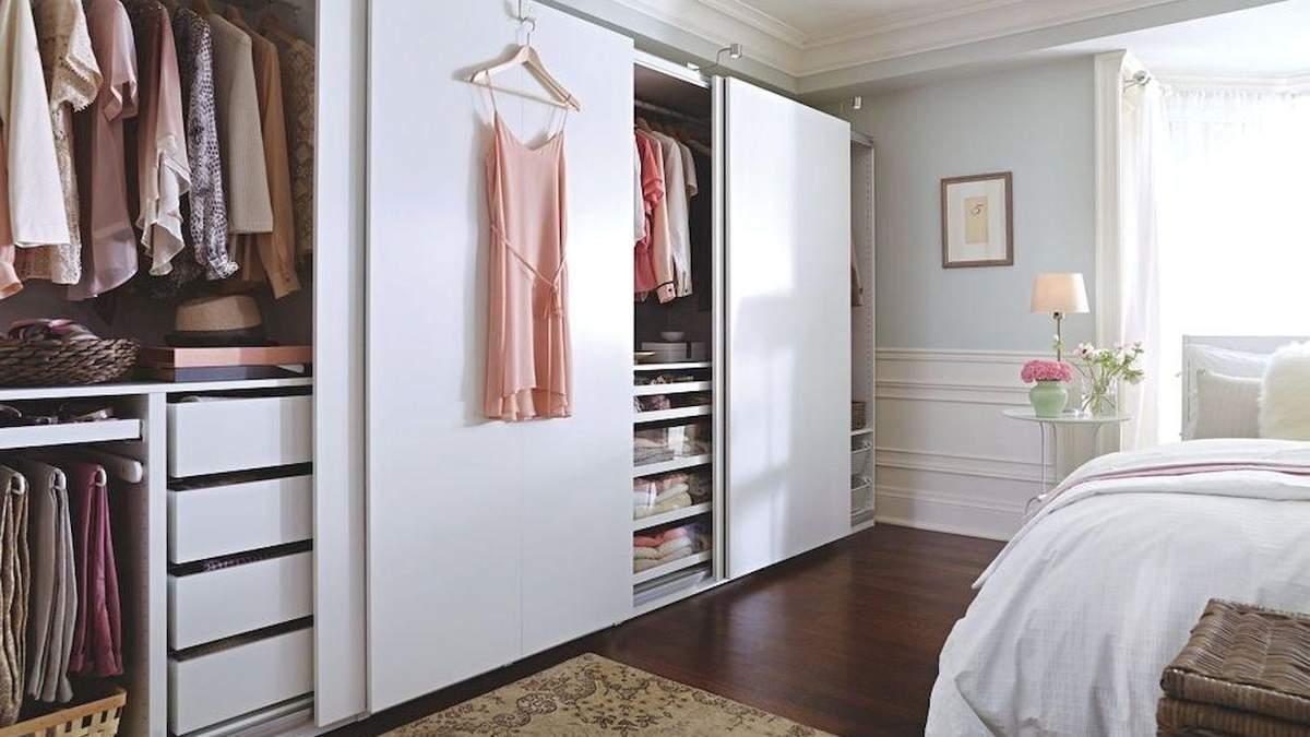 Як зробити ідеальну гардеробну: основні правила
