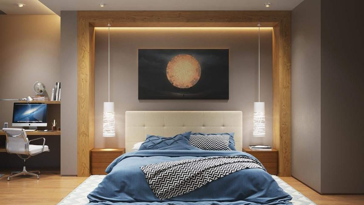 Освітлення в спальні: які нюанси потрібно врахувати