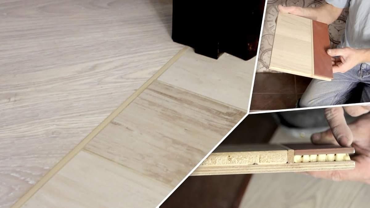 Стик підлогових покриттів у квартирі або будинку: що потрібно знати