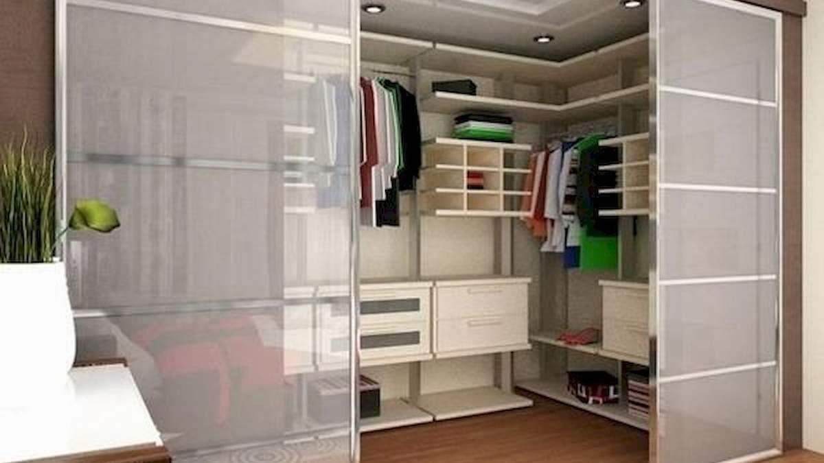 Планировка гардеробной в квартире и доме: популярные варианты