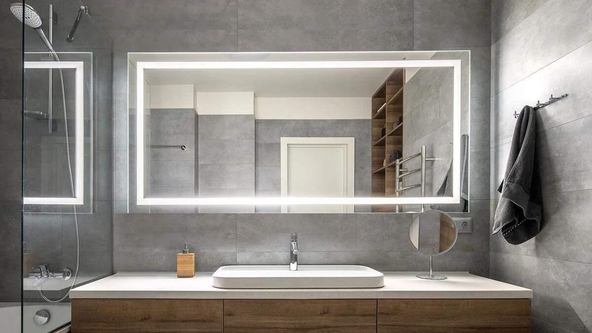 Зеркало для ванной комнаты: что учесть перед покупкой
