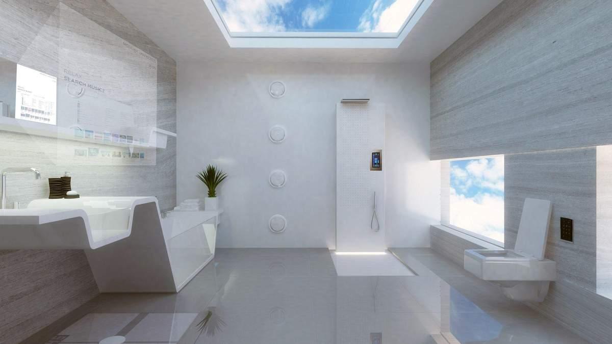 Якою буде ванна майбутнього: несподівані рішення в інтер'єрі