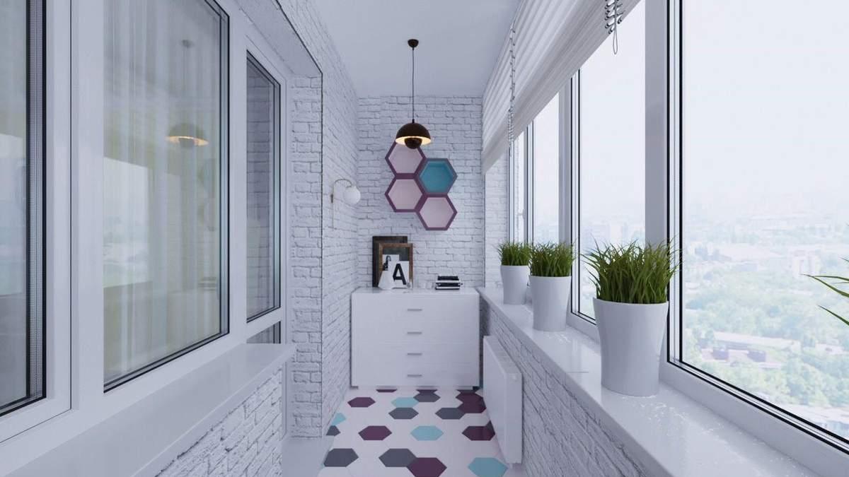 Як облаштувати балкон або лоджію у квартирі: 5 порад та ідей