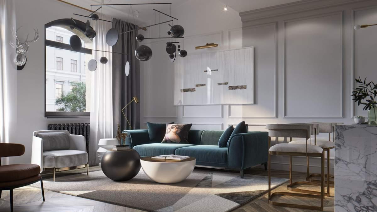 Чим зайняти порожній кут у вітальні: 4 цікавих та стильних ідеї