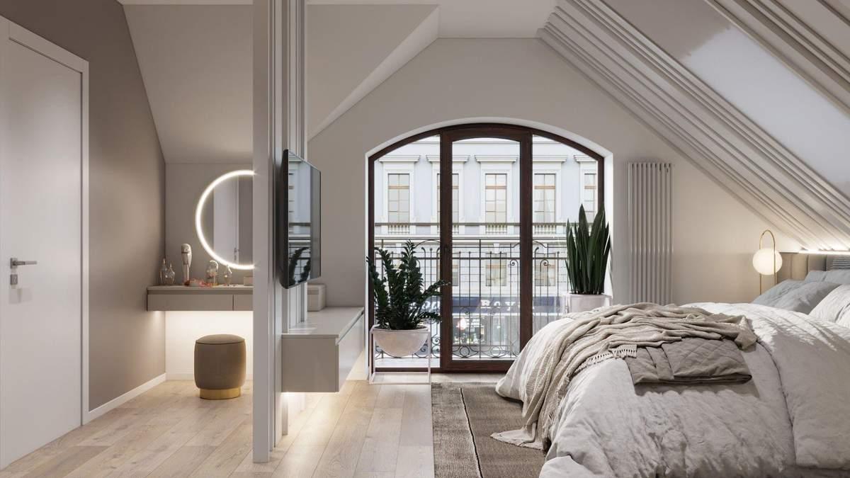 Інтер'єр спальні: які зони оформити в кімнаті відпочинку