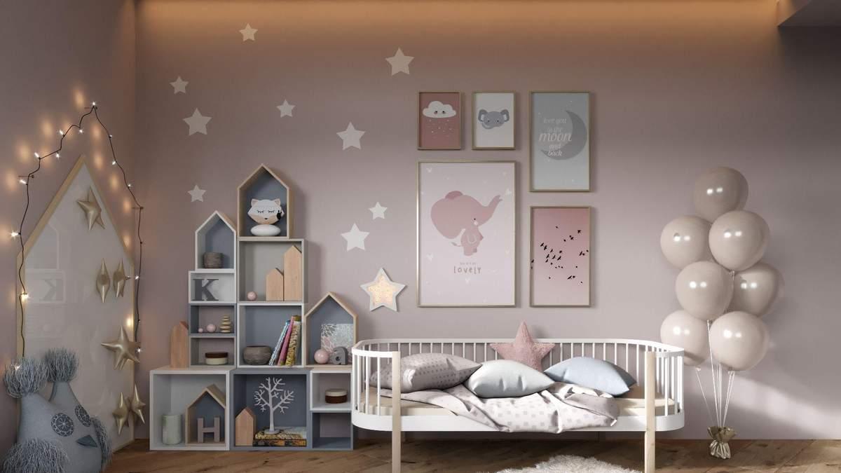 Интерьер детской: 4 шага, которые сделают комнату стильной и удобной