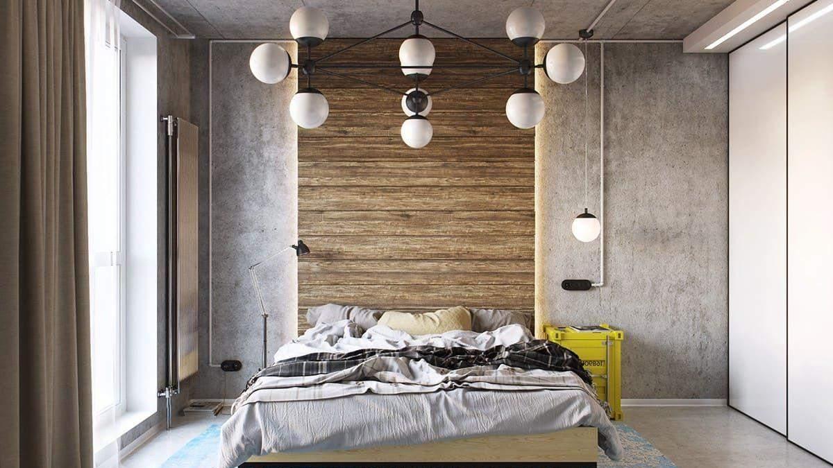 Стена у изголовья кровати: как ее оригинально оформить - идеи и фото