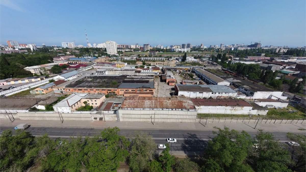 Как выглядит одесская колония, которую продают за 223 миллиона гривен фото
