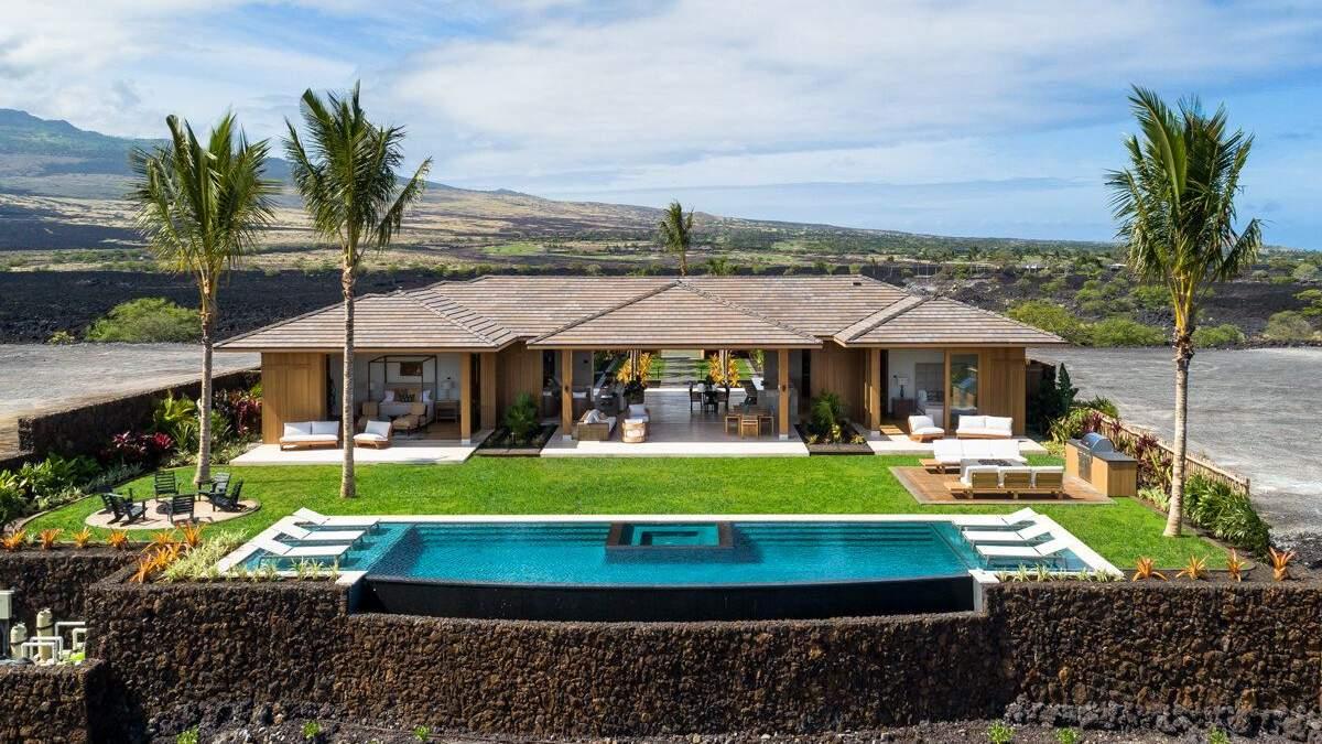 Где живет Мэттью Макконахи: фото роскошной виллы на Гавайях