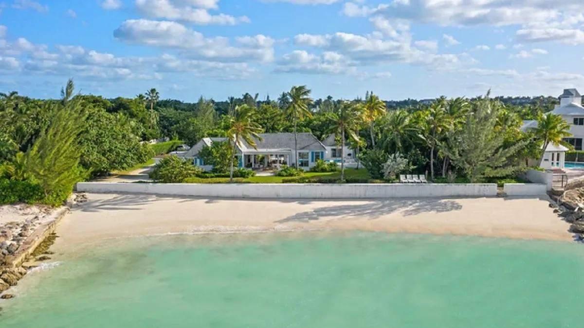 Как выглядит дом на Багамах, где отдыхала принцесса Диана с Гарри и Уильямом - фото