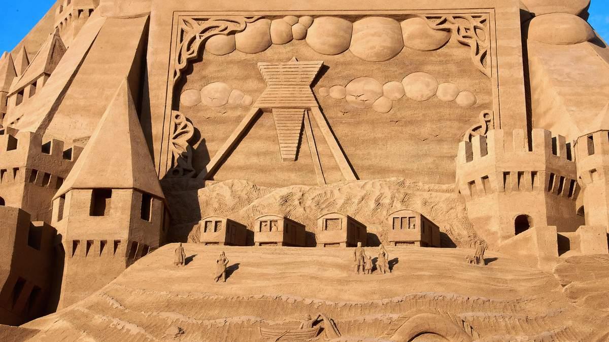У Данії побудували найвищий у світі замок з піску: вражаючі фото та відео
