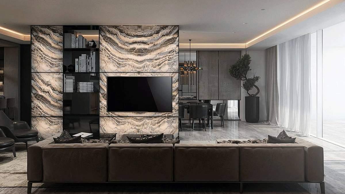 Как и где удачно расположить телевизор в интерьере: крутые идеи - фото