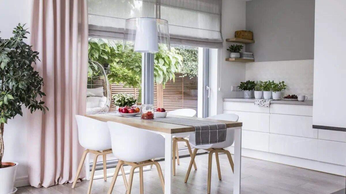Як підібрати довговічні штори на кухню: матеріал, довжина, колір - Нерухомість
