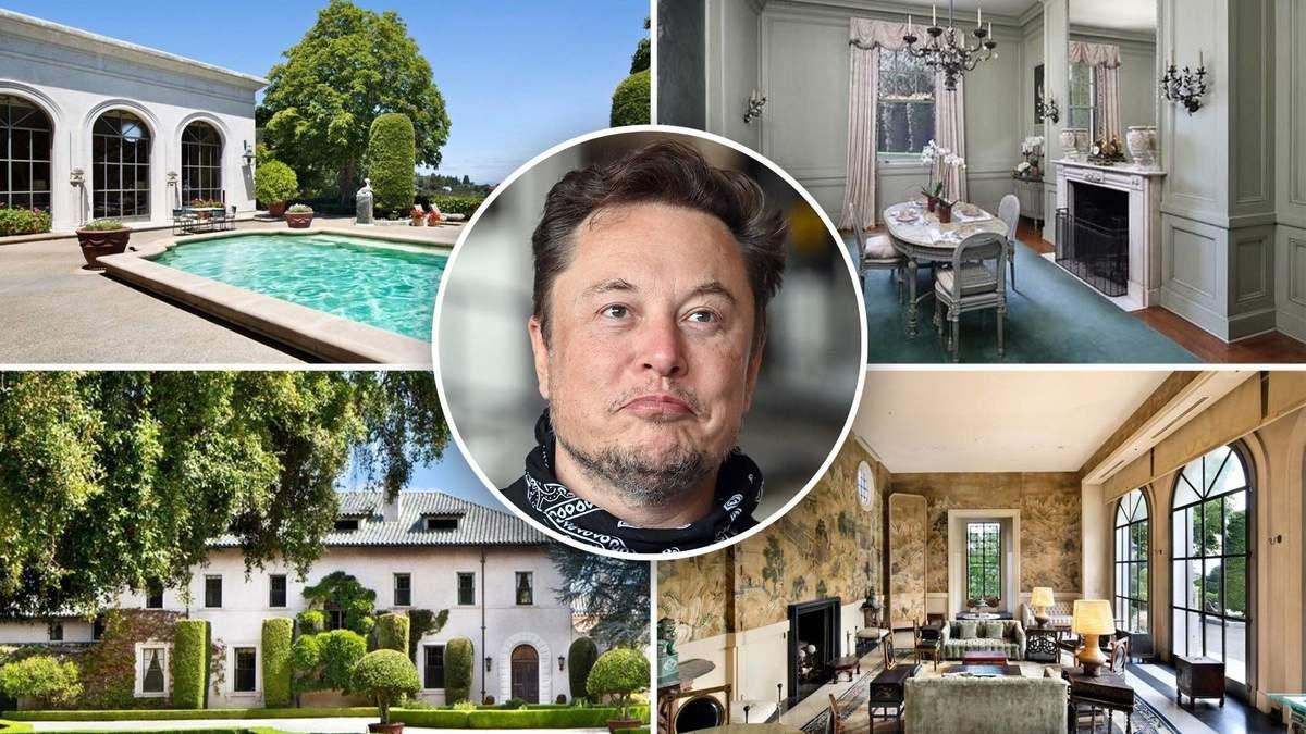 """Ілон Маск зняв з продажу свій """"останній будинок на Землі"""": що трапилося - Нерухомість"""
