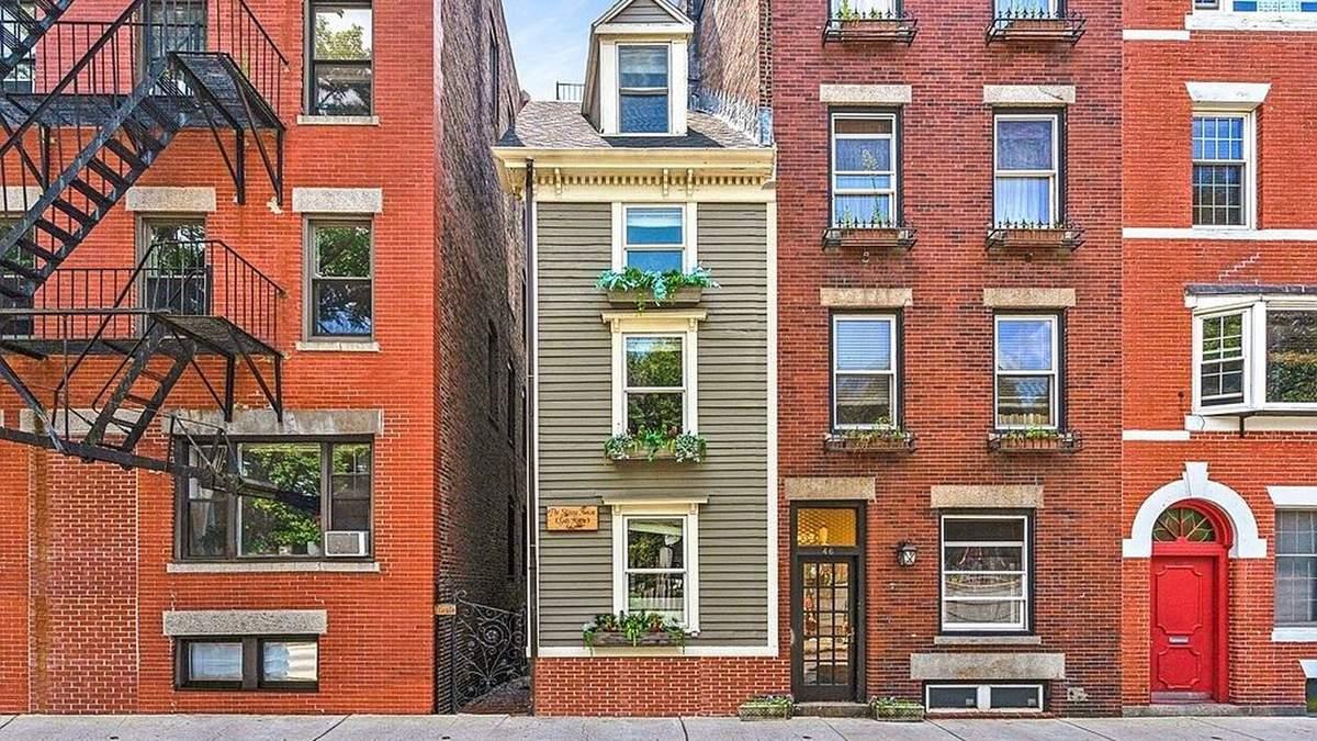 Війна за нерухомість: найвужчий дім Бостона проданий за рекордно високу суму - Нерухомість