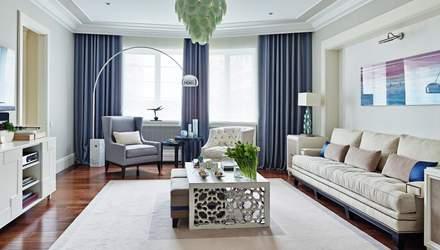 Ремонт вітальні: кращі колірні рішення – фото