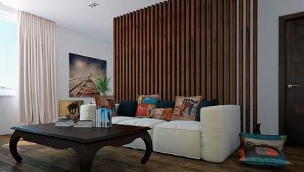 Интерьер квартиры с элементами дерева: особенности и примеры