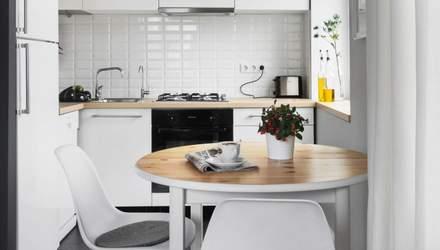Если придут гости: 3 интересных идеи для маленькой кухни