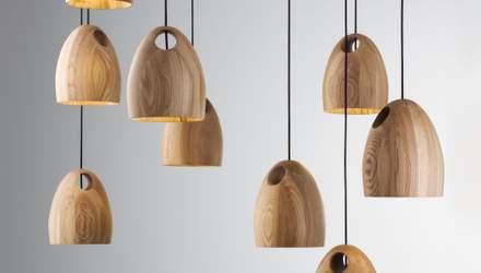 Дерев'яні люстри в інтер'єрі: в чому їхні фішки та особливості