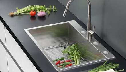 Мийка на кухні: основні нюанси, які потрібно врахувати при виборі