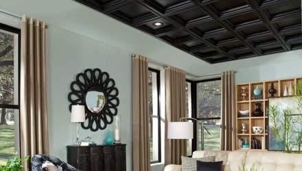 Темный потолок в квартире: все за и против