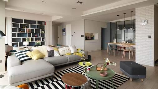 Модные фишки в интерьере квартиры: фото