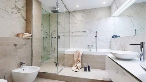 Самые удачные цвета для оформления ванной: фото интерьера