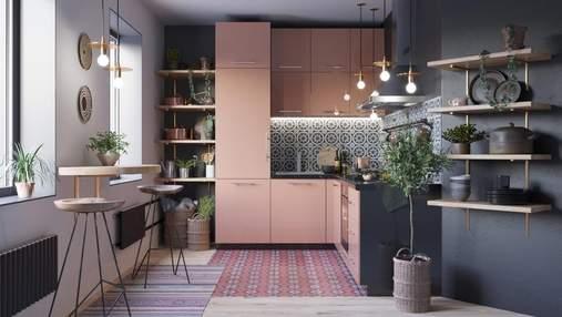 Чем занять пустое место на кухне: интересные идеи