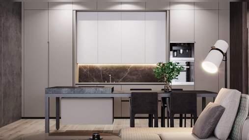 Кухня-невидимка в интерьере: как она выглядит