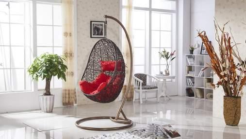 Подвесное кресло-кокон в интерьере: особенности и яркие фото
