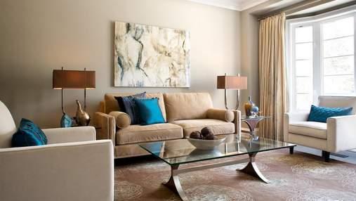 Акценты в квартире и доме: какие предметы должны быть яркими