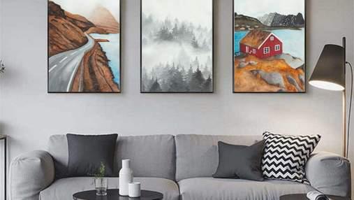 Картины в квартире и доме: важные нюансы, которые нельзя игнорировать