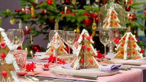 Какие фишки использовать для декора новогоднего стола: 8 идей
