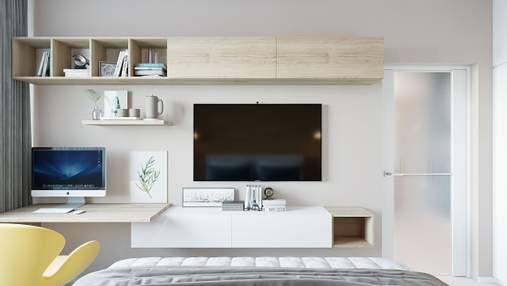 Телевизор в гостиной, спальне и кухне: как его идеально разместить
