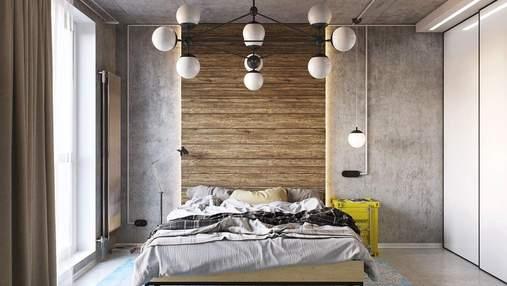 Стена у изголовья кровати: самые популярные способы ее оформления