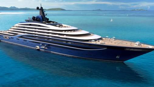 В Норвегии строят самую большую яхту в мире с апартаментами от 11 миллионов долларов: фото