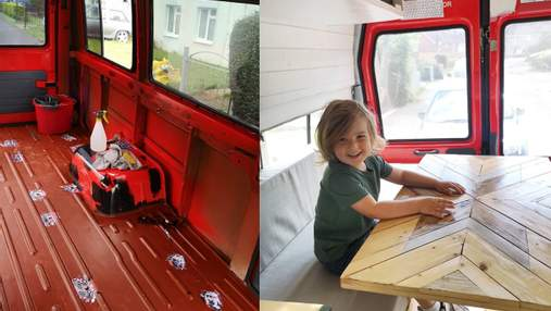 Пара переробила старий шкільний автобус у будинок для подорожей: фото результату