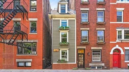 Война за недвижимость: самый узкий дом Бостона продан за рекордно высокую сумму
