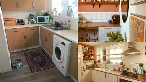 Жительница Великобритании бюджетно обновила старую квартиру: фото до и после