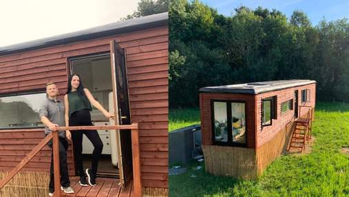 Пара перетворила 13-метрову вантажівку на затишне житло з ванною та кухнею: фото результату