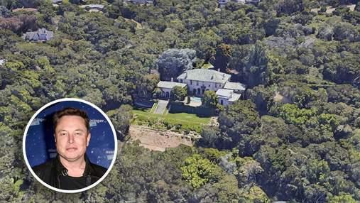 Ілон Маск знизив ціну на свій маєток у Кремнієвій долині: скільки коштує елітна нерухомість