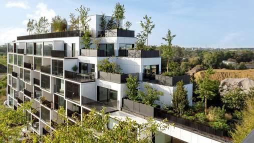 У Нідерландах збудували хмарочос з 10 000 рослинами на балконах: призначення будівлі